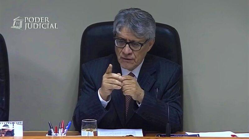 Juez Luis Rolando del Río se acoge a retiro tras 31 años de carrera judicial