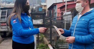 Campaña contra la contaminación atmosférica y el COVID-19 alcanzó a 5 mil hogares de Coyhaique
