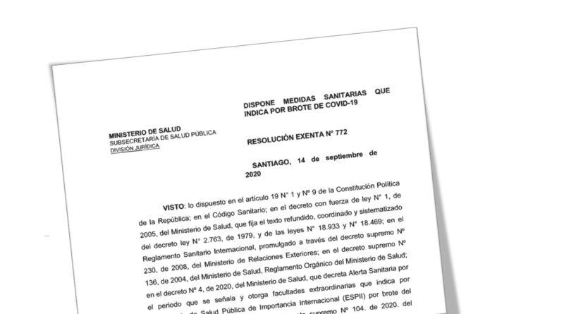 Autoridad sanitaria decreta Cordón Sanitario para Coyhaique en la previa de Fiestas Patrias