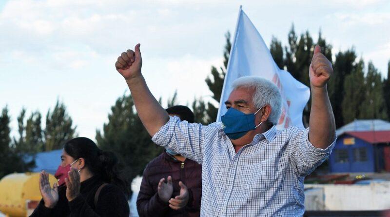Alcalde Ibarra lanzó campaña por la reelección junto a candidatos al municipio de Chile Chico