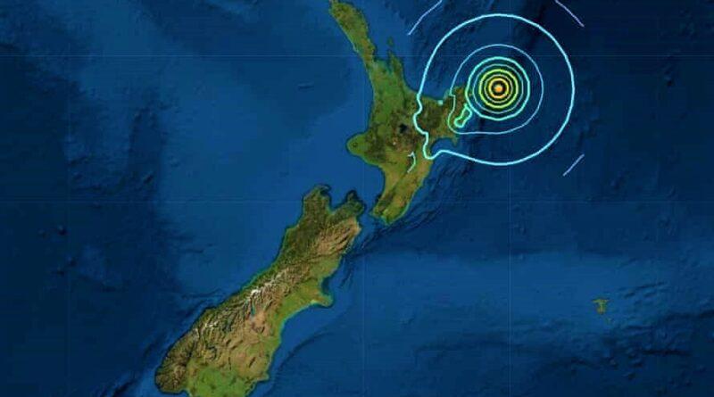 ONEMI estableció Alerta Amarilla para todo el litoral del país por sismo 8.1 en Nueva Zelanda