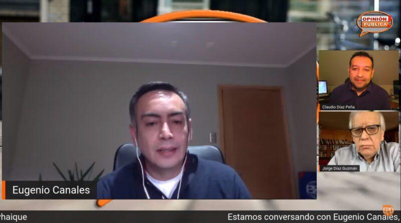 """Eugenio Canales, candidato a alcalde de Coyhaique: """"Soy independiente, así voy en la papeleta"""""""