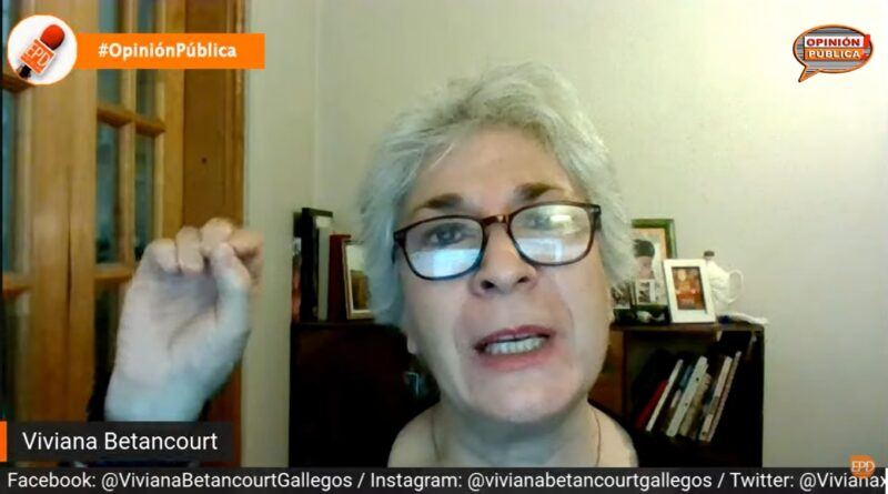 """Viviana Betancourt, candidata Constituyente: """"Conocí la derecha dura y toda la brutalidad que podían validar"""""""